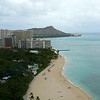 """We had a great view of Waikiki and of """"Diamond Head"""" Volcano Crater from our 29th Floor room... it's definitely worth the extra $/night to go with the Oceanview room if your budget can fit it in!"""