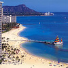 """There was our """"Home"""" for 2 nights in Honolulu... the """"Rainbow Tower"""" at Hilton's Hawaiian Village."""