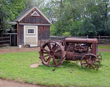 Rusty Farm Tractor