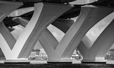 Under the Wilson Bridge