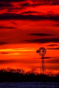 Firey Windmill