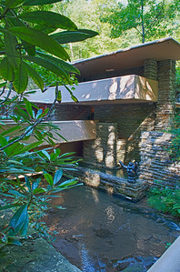 Photo for exhibition only. The Western Pennsylvania Conservancy prohibits commercial use of images of Fallingwater.