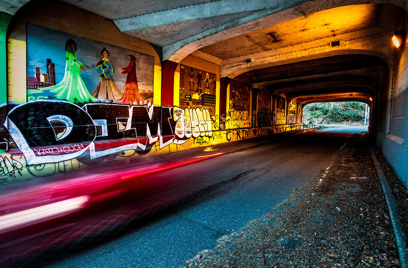"""DPChallenge """"Graffiti""""<br /> Title: """"Drive-By Shooting""""<br /> Place: 1st"""