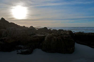 17 Mile Drive. Pebble Beach, California.