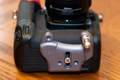 Spider Pro Plate on D7000 grip.