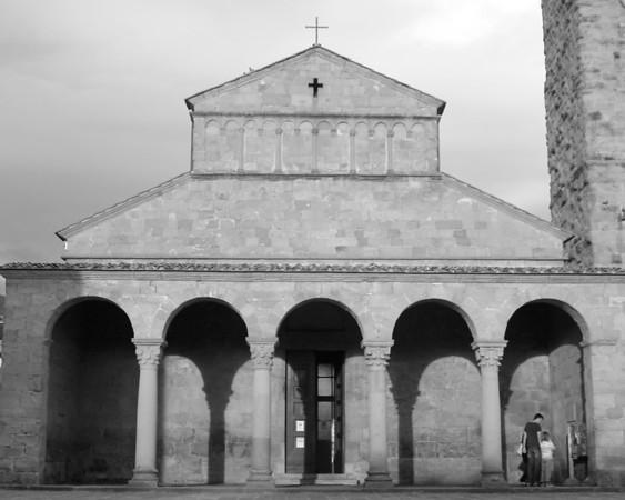 Chapel at sunset - Regello, Italy