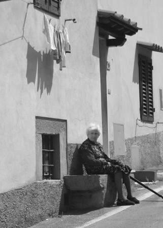 Woman in Regello, Tuscany