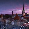 Sunrise Overlooking the Old Town of Tallinn