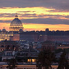 St Peter's Basilica During Autumn Twilight