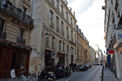 Our apartment and home base for a week was here in this building in the Marais neighborhood.