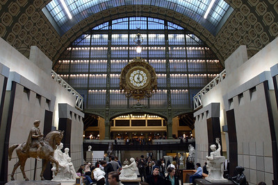 D' Orsay Museum. The building was a a train station at one time.