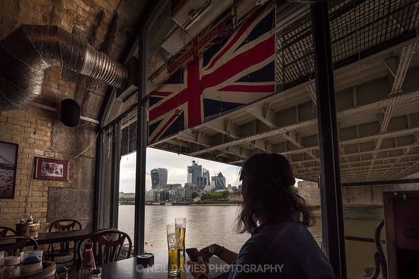 Two Beers Under Tower Bridge