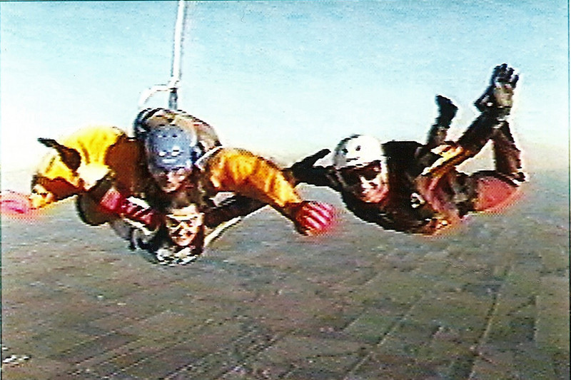 My first skydive.