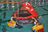 Water survival training, 2000.