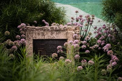 Lisa Link Peace Park plaque