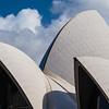 closeup detail Sydney Opera House
