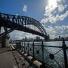 south view under the Sydney Harbor bridge