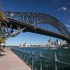 promenade near Luna Park facing Sydney Harbor Bridge