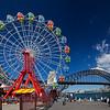 panorama Ferris Wheel & Sydney Harbor Bridge