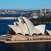 Opera House from Sydney Harbor Bridge