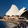 walking to the Festival of Dangerous Ideas Sydney Opera House