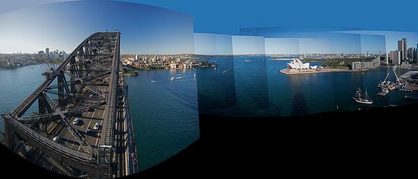 collage Sydney Harbor