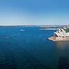 panorama from bridge to Opera House to inner harbor