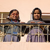 two girls on balcony Jaipur