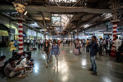 commuters Chhatrapati Shivaji Terminus