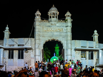 entrance to Haji Ali Dargah Mosque compound