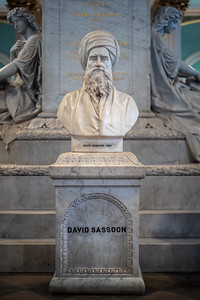 David Sassoon bust Victoria & Albert Museum