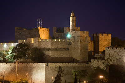 Citadel Tower of David old Jerusalem