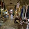 men and girl Arab market Jerusalem