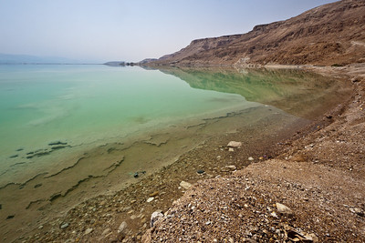 shoreline of Dead Sea