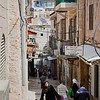 narrow Jerusalem street