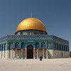 woman in front of Dome of the Rock