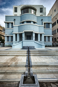Shimon Stern house Bauhaus district Tel Aviv