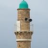 Al Bahr mosque minaret Jaffa
