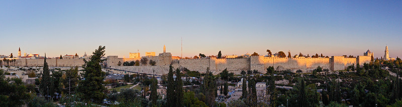 walled city panorama