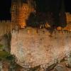 Citadel of David at night