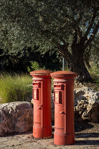British Mandate-era pillarboxes