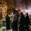 waiting at the Church of the Holy Sepulchre