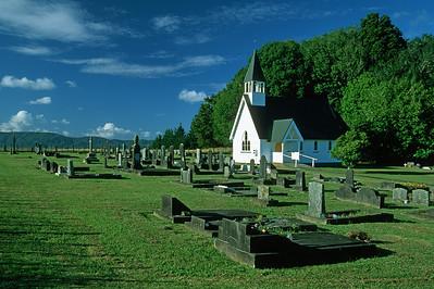 Waimate chrch graveyard