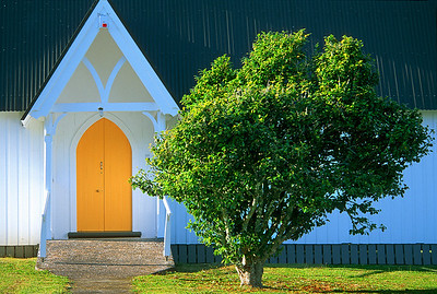 Waimate N Church door