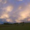 sunset Rawhitiroa Farm