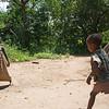 Hadza boys playing ball 4