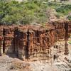 red mesa Olduvai Gorge