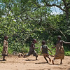 Hadza boys playing ball 3