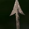Hadza arrowhead closeup