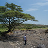 Olduvai with guide